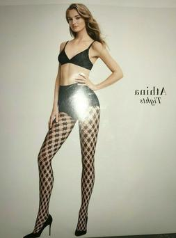 Wolford Athina Tights Size: Medium  Color: Black 19227 - 09