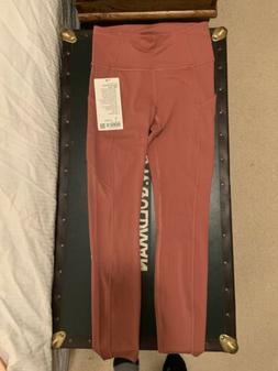 """Lululemon BRAND NEW 4 Pink Leggings Fast And Fre 25"""" Tight"""