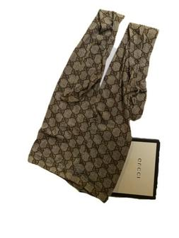 Brown G Gucci Tights Authentic With Box And Tag Size S/8