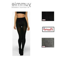 NEW!! Yummie BY HEATHER THOMSON 2 PACK OPAQUE TIGHTS VARIETY